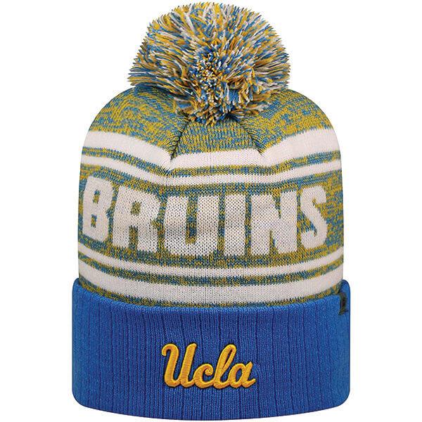 UCLA Bruins Cuffed Beanie with Pom-pom