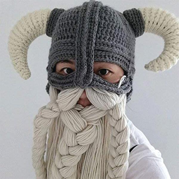 Amazing Craftsmanship Viking Beard Beanie
