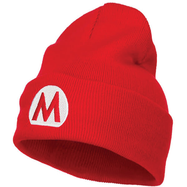 High Top Mario Beanie for Game Lovers
