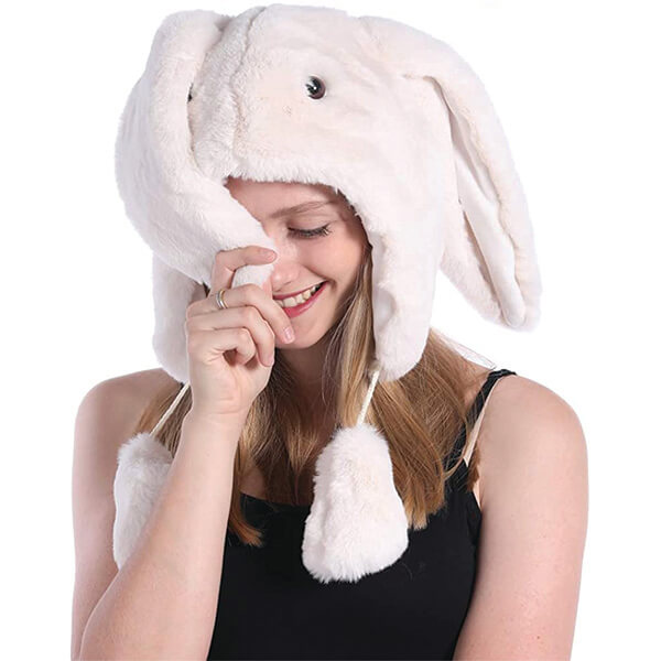 Bunny Beanie With Matching Gloves for All