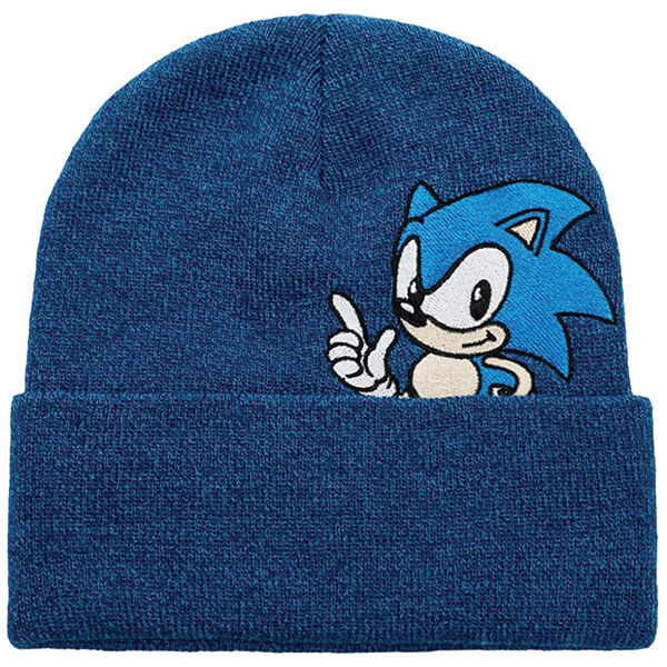 Complete Coverage Casual Style Cuff Sonics Beanie