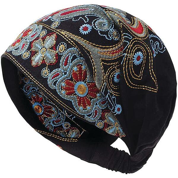 Cotton Sweat Free Turban Headband Beanie