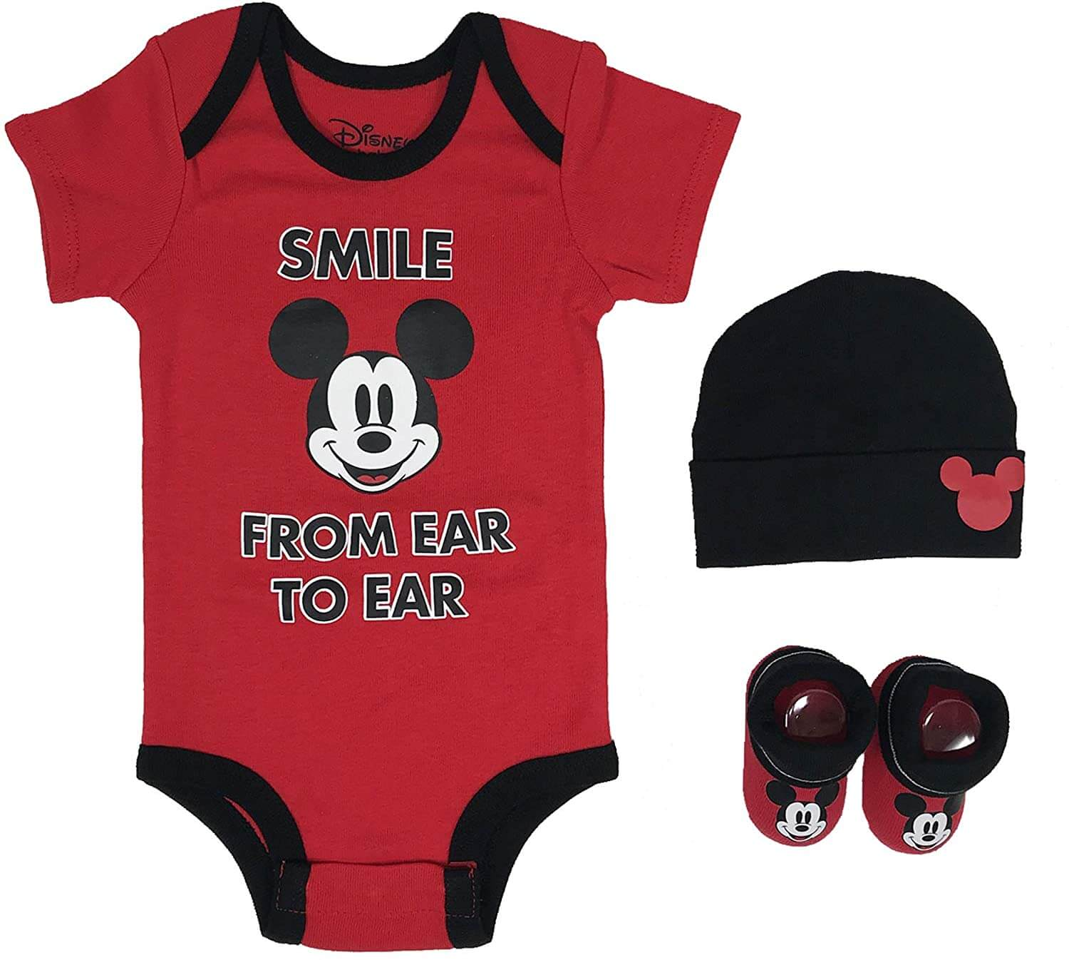 3 Pcs Baby Costume Beanie And Shoes for 0-6 Months