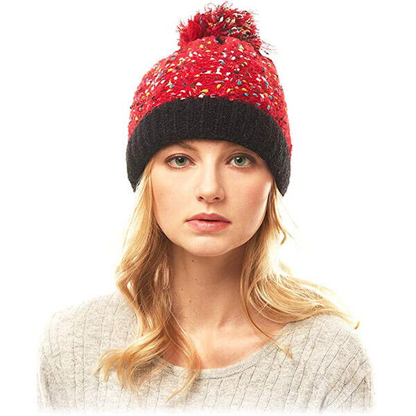 Cute Pom-pom Beanie for Regular Usage at Affordable Price