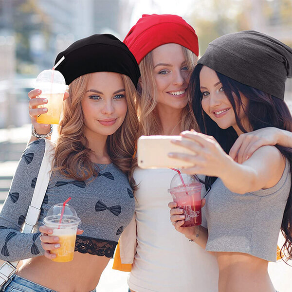 Multifunctional Combo 4pcs Sleep Beanies at Low Prices
