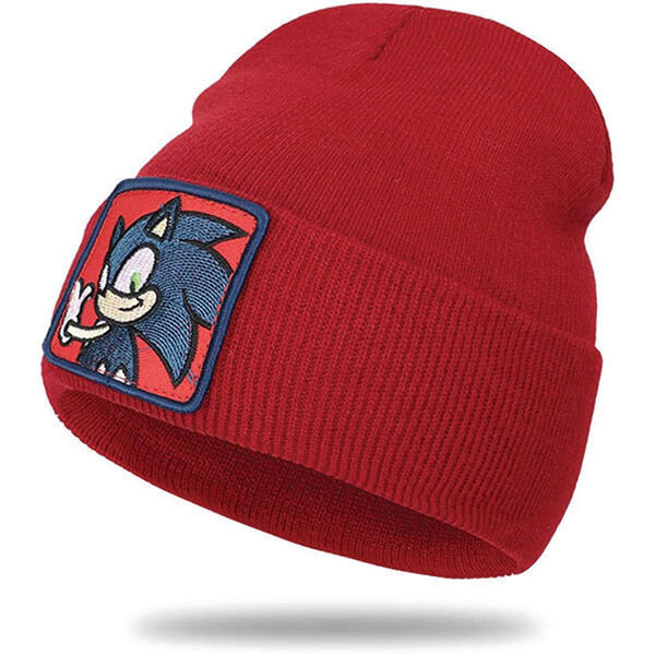 Safety Reflective Sweat Free Red Sonics Beanie
