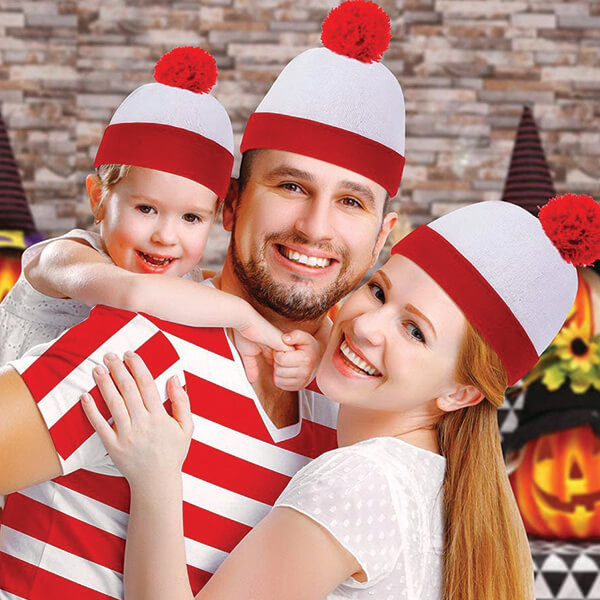 Two in One Christmas Beanies Combo at Low Price