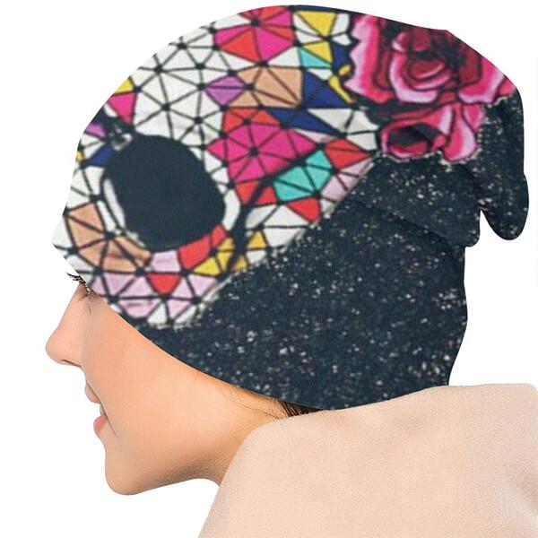 Colorful Skull Beanie for Men & Women