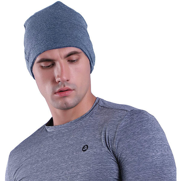 Cotton Polyester Cycling Beanie Hat