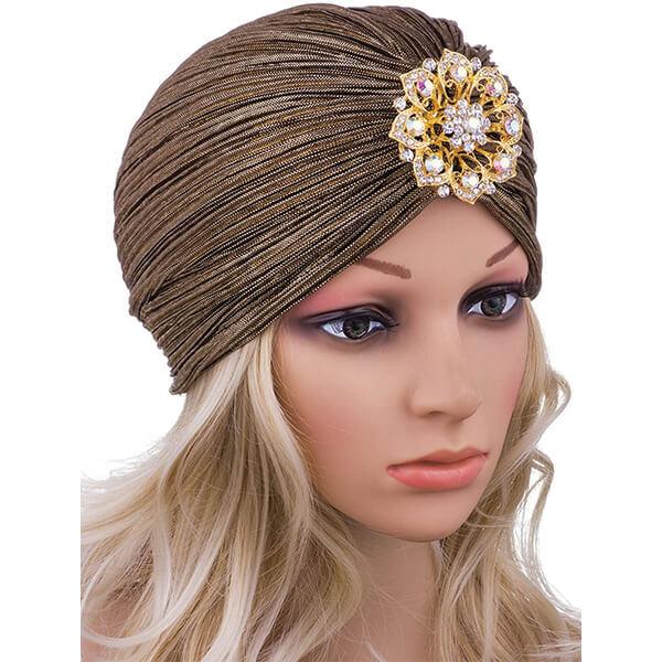 Headwrap Style Vintage Beanie