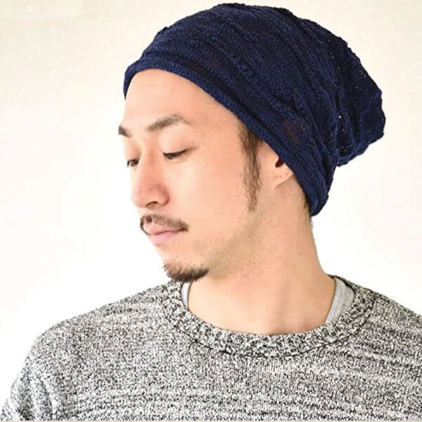 Sweat Free Cotton Cooling Lightweight Summer Beanie for All Seasons