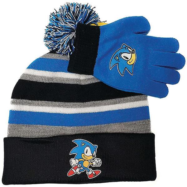 Worth Investing Pom-pom Hedgehog Beanie With Gloves