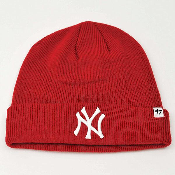 47 MLB New York Yankees Red Beanie