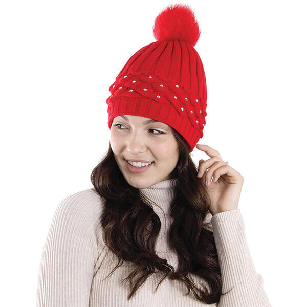Arctic Paw Handcrafted Bling Beanie