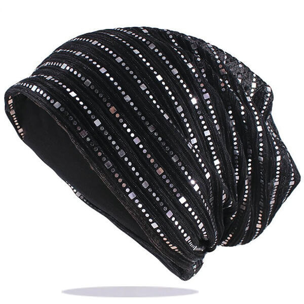 Elegant Slouchy Rhinestones Beanie for Affordable Prices