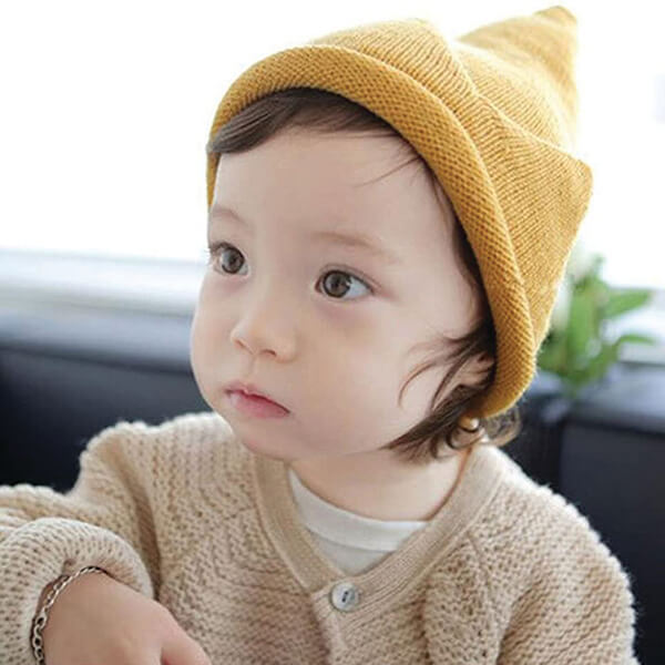 Tall Crocheted Beanie for All Children Below 5 Years