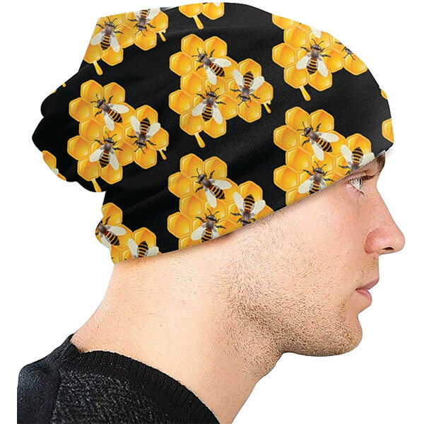 Unique Honeycomb Slouchy Beanie for All Seasons