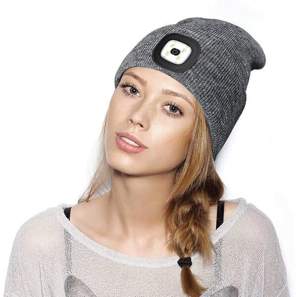 Warm Soft Touch Light Up Beanie in 16 Colours