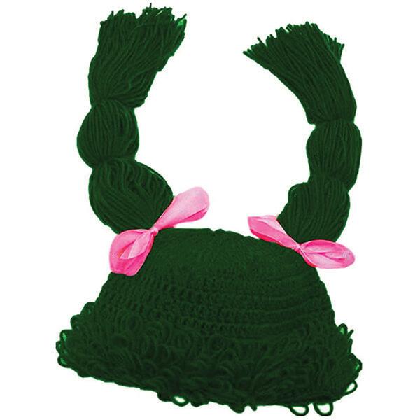 Women Braid Beanie Wig for Halloween
