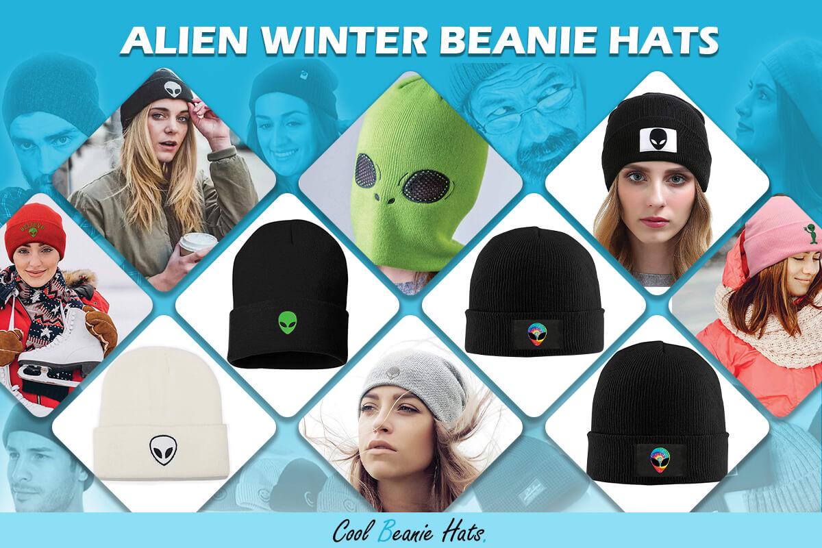 Alien Winter Beanie Hats