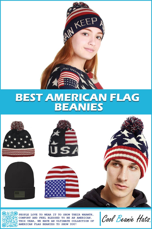 Best American Flag Beanies