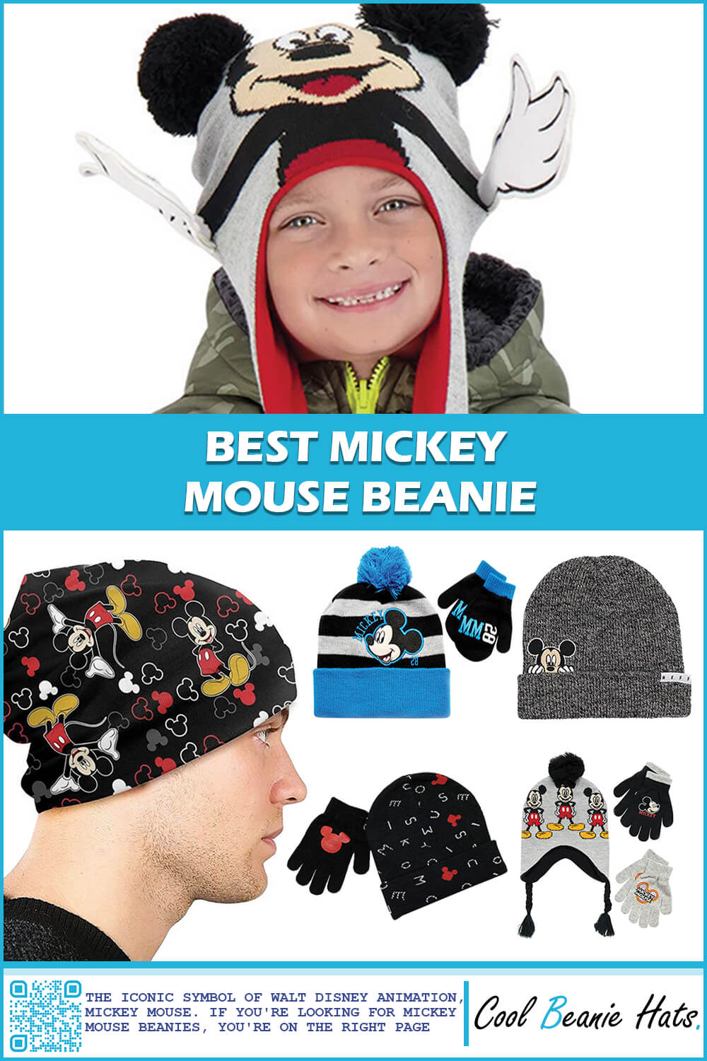 Best Mickey Mouse Beanie Hats