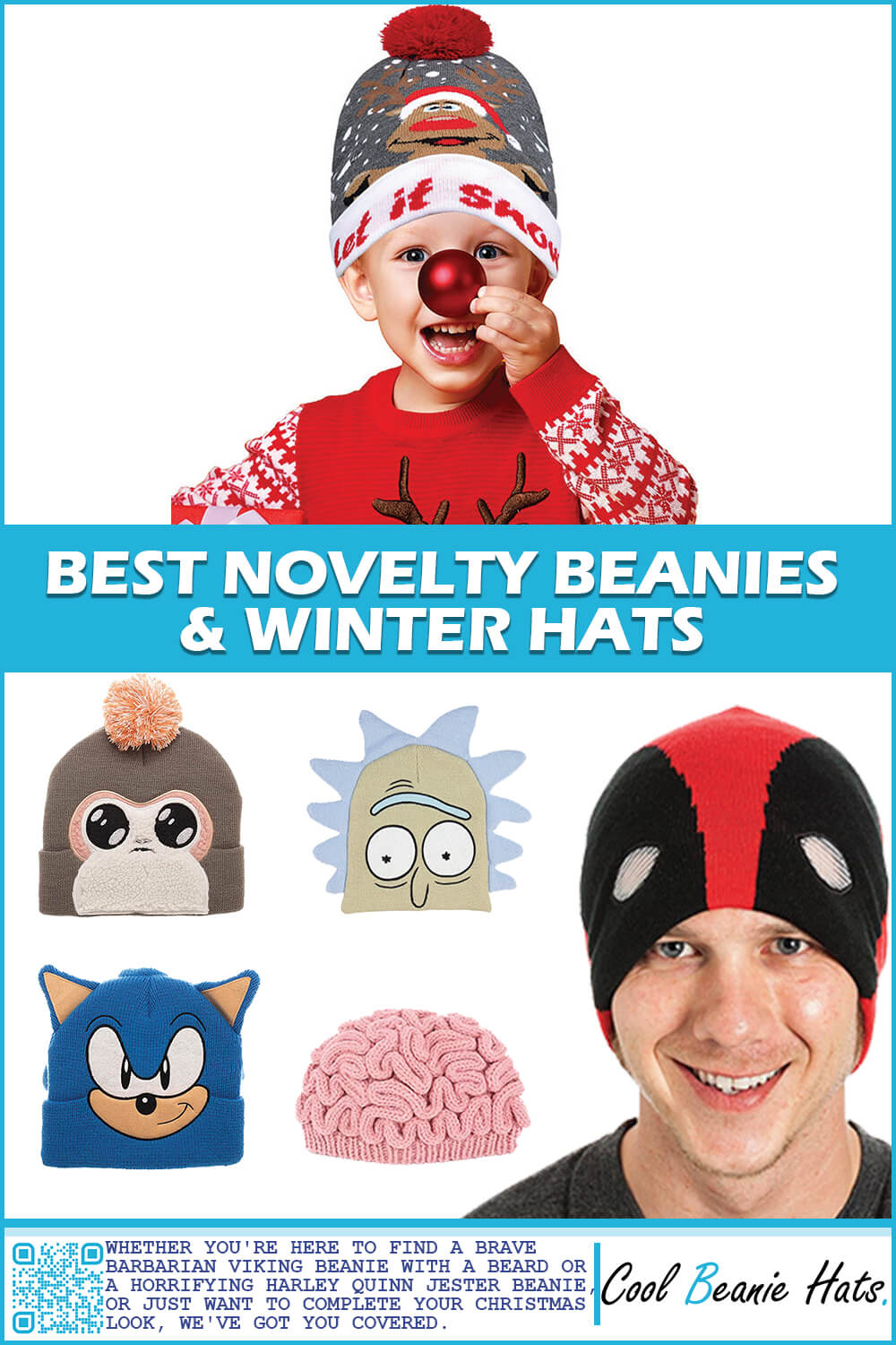 Best Novelty Beanies and Winter Hats
