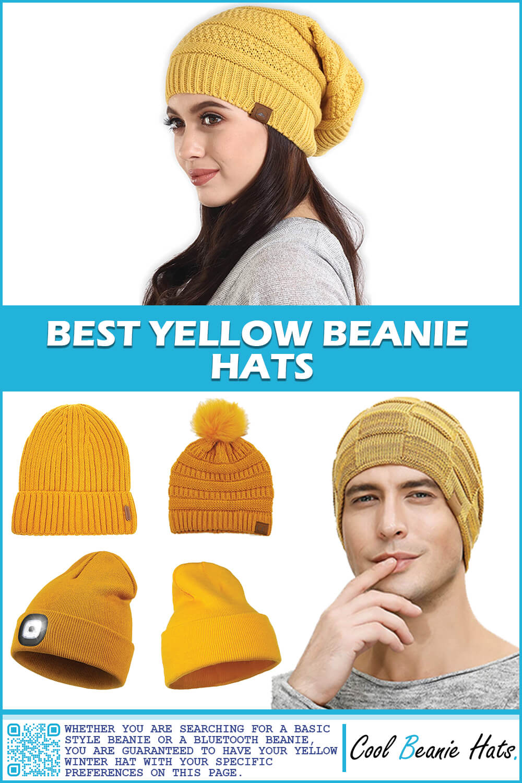 Best Yellow Beanie Hats