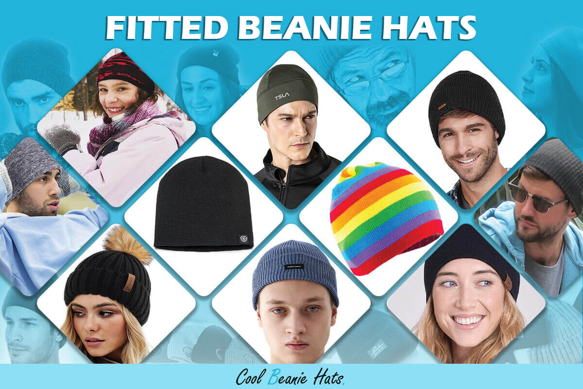 Fitted Beanie and Winter Hats