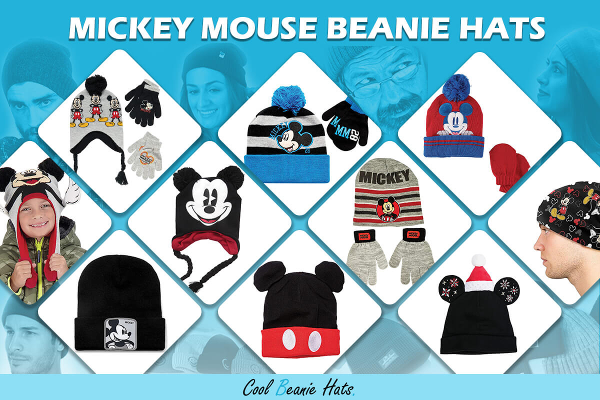 Mickey Mouse Beanie Hats