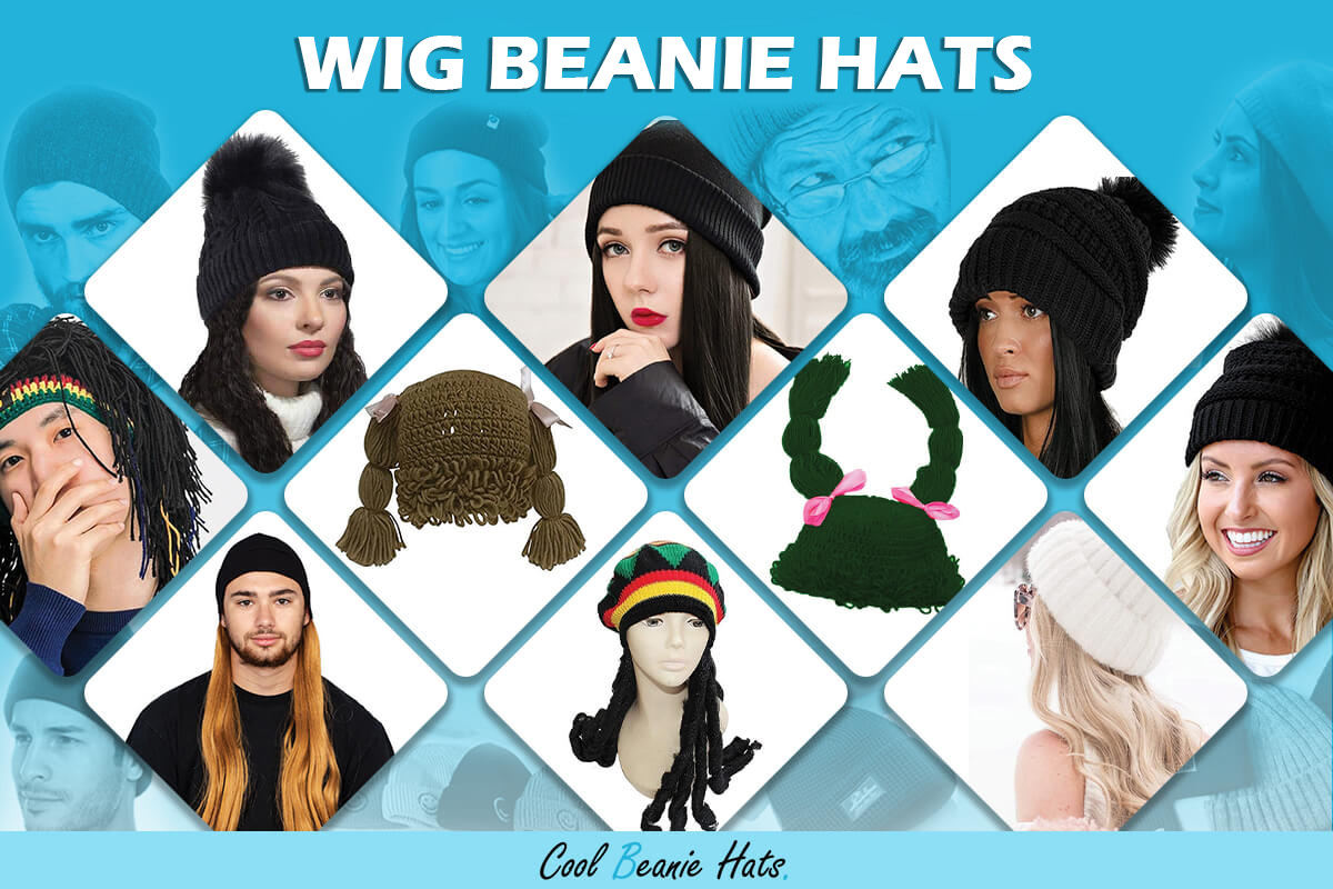 Wig Beanies and Winter Hats