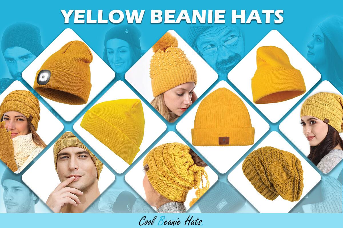 Yellow Beanie Hats