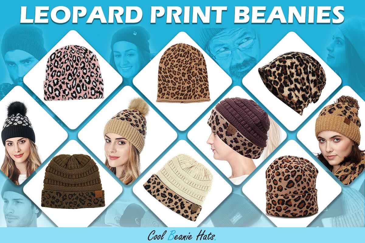 best leopard print beanies