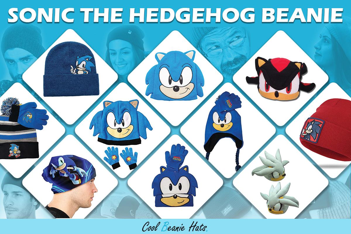 best sonic the hedgehog beanies