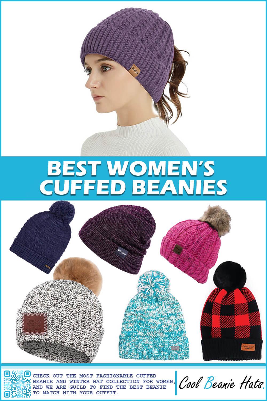 cuffed beanies womens