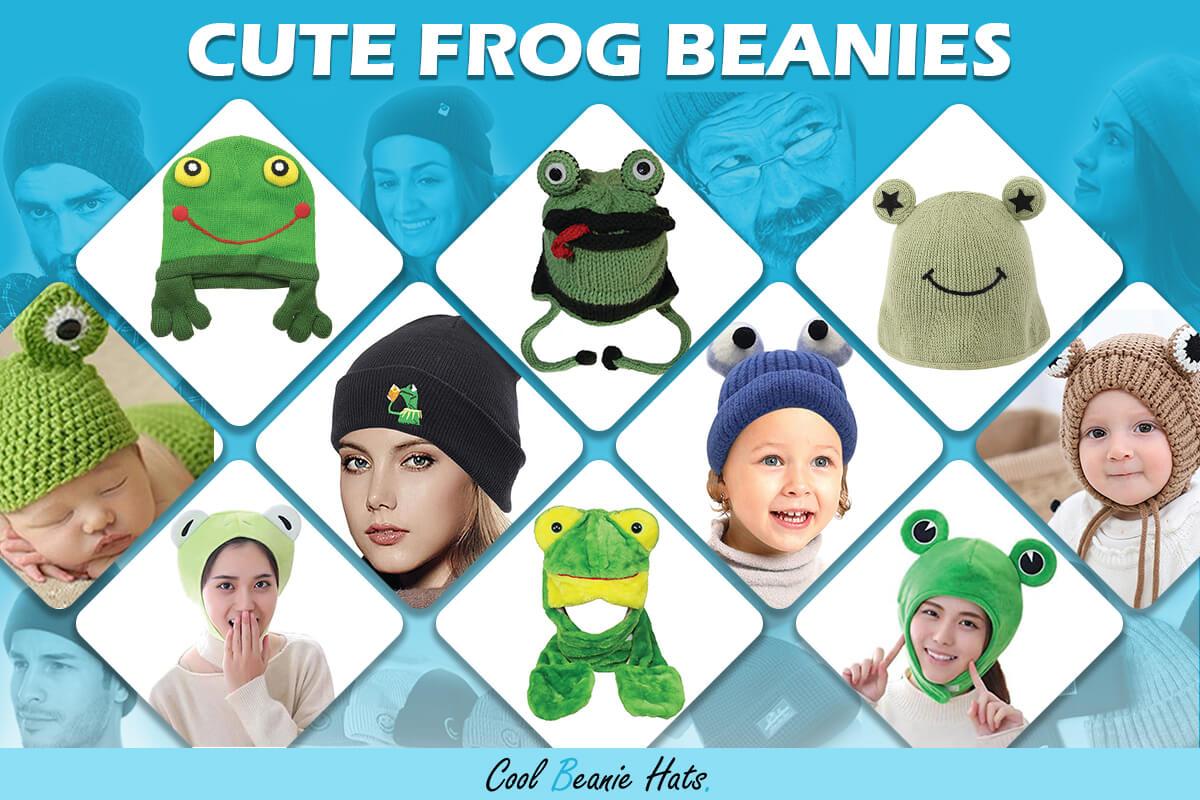 frog beanies