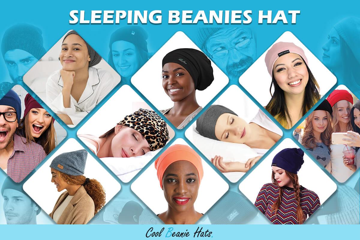 Sleeping Beanies Hat for Women