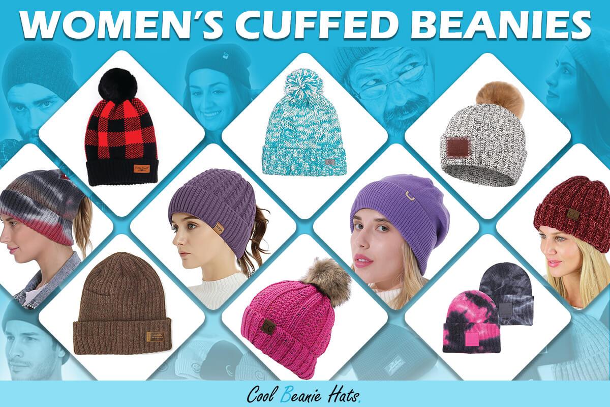 womens cuffed beanies